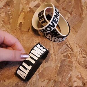 Emo gummy bracelets